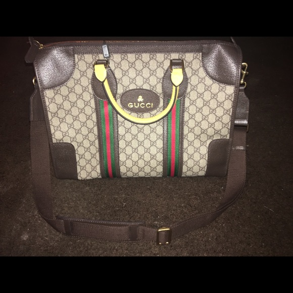 81bb77eb1c5f Gucci Bags | Gg Supreme Canvas Duffle Bag | Poshmark